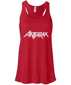 Logo Band Anthrax Women's Tank Top