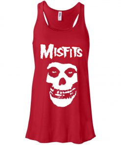 Rock Band Logo Misfits Women's Tank Top