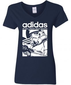 Star Wars Adidas Stormtrooper Women's V-Neck T-Shirt