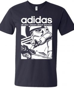 Star Wars Adidas Stormtrooper V-Neck T-Shirt