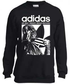 Star Wars Adidas Darth Vader Youth Sweatshirt