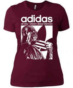 Star Wars Adidas Darth Vader Women's T-Shirt