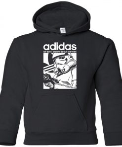 Star Wars Adidas Stormtrooper Youth Hoodie