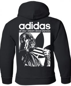 Star Wars Adidas Darth Vader Youth Hoodie