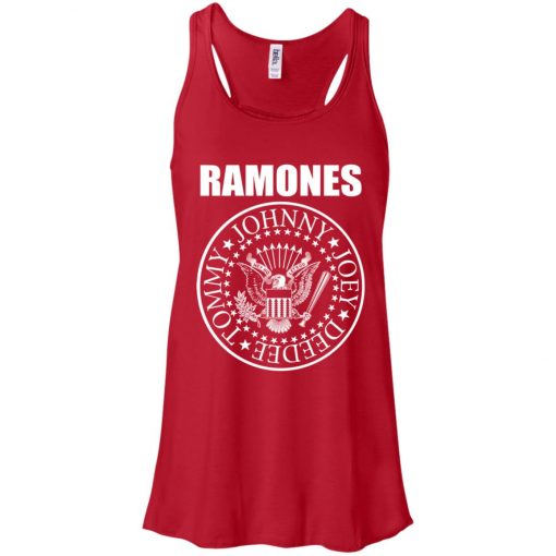 President Seal Eagle Logo Ramones Women's Tank Top