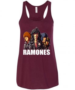 Rock Band Member Ramones Women's Tank Top