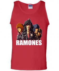 Rock Band Member Ramones Tank Top