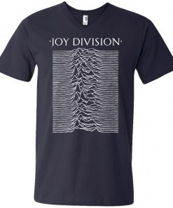 Rock Band Logo Joy Division V-Neck T-Shirt