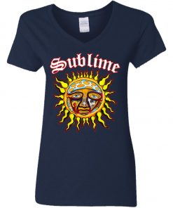 Sun Logo Sublime Women's V-Neck T-Shirt