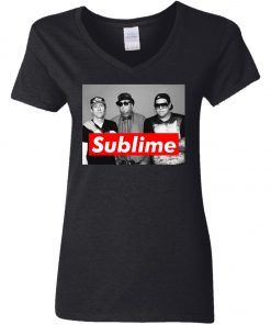 Supreme Members Of Sublime Women's V-Neck T-Shirt