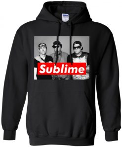 Supreme Members Of Sublime Pullover Hoodie