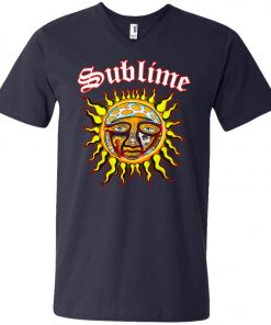 Sun Logo Sublime V-Neck T-Shirt