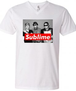 Supreme Members Of Sublime V-Neck T-Shirt
