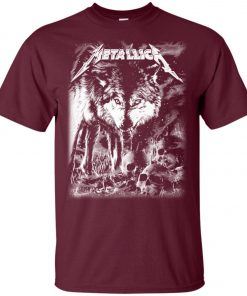 Metallica Of Wolf And Man Unisex T-Shirt