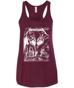 Metallica Of Wolf And Man Women's Tank Top
