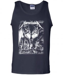 Metallica Of Wolf And Man Tank Top