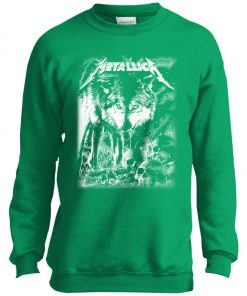 Metallica Of Wolf And Man Youth Sweatshirt