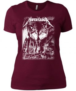 Metallica Of Wolf And Man Women's T-Shirt