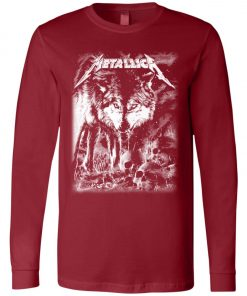 Metallica Of Wolf And Man Long Sleeve