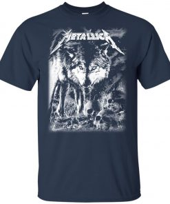 Metallica Of Wolf And Man Youth T-Shirt