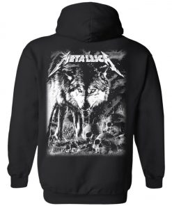 Metallica Of Wolf And Man Pullover Hoodie