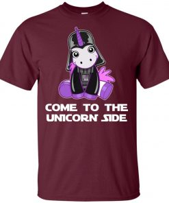 Unicorn Come To The Dark Side Star Wars Unisex T-Shirt