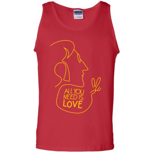 All You Need Is Love John Lennon The Beatles Tank Top