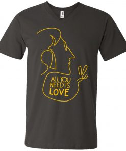 All You Need Is Love John Lennon The Beatles V-Neck T-Shirt