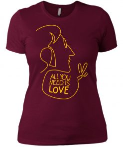 All You Need Is Love John Lennon The Beatles Women's T-Shirt