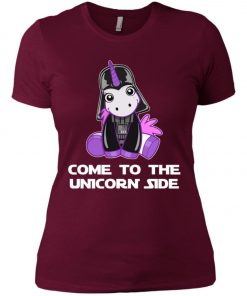 Unicorn Come To The Dark Side Star Wars Women's T-Shirt