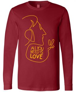 All You Need Is Love John Lennon The Beatles Long Sleeve