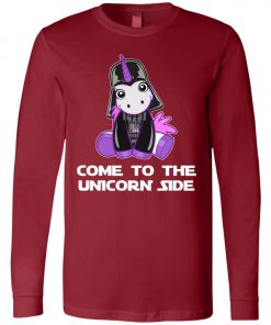 Unicorn Come To The Dark Side Star Wars Long Sleeve