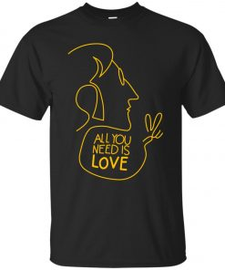 All You Need Is Love John Lennon The Beatles Youth T-Shirt