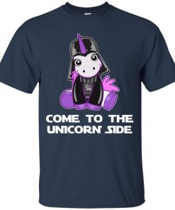 Unicorn Come To The Dark Side Star Wars Youth T-Shirt