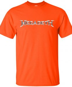 Rock Band Logo Megadeth Unisex T-Shirt
