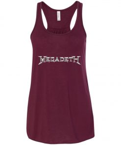 Rock Band Logo Megadeth Women's Tank Top