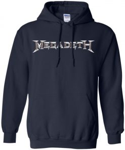 Rock Band Logo Megadeth Pullover Hoodie