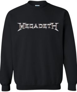 Rock Band Logo Megadeth Sweatshirt