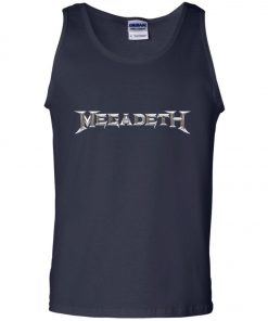 Rock Band Logo Megadeth Tank Top