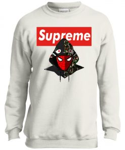 Supreme Hypebeast Spider Man Youth Sweatshirt