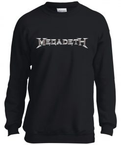 Rock Band Logo Megadeth Youth Sweatshirt