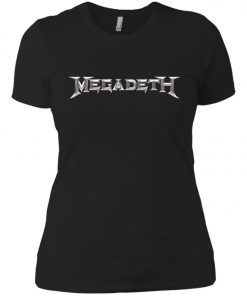 Rock Band Logo Megadeth Women's T-Shirt