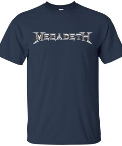 Rock Band Logo Megadeth Youth T-Shirt