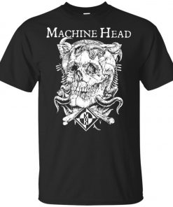 Skull Logo Machine Head Unisex T-Shirt