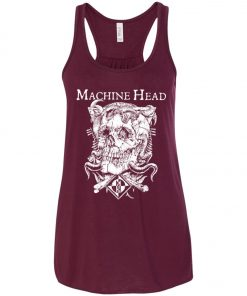 Skull Logo Machine Head Women's Tank Top