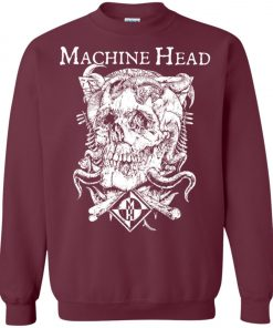 Skull Logo Machine Head Sweatshirt