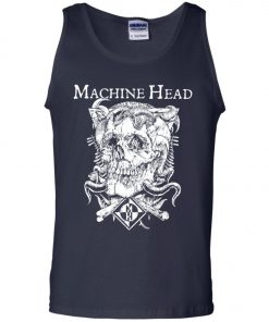 Skull Logo Machine Head Tank Top