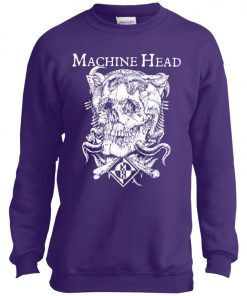 Skull Logo Machine Head Youth Sweatshirt