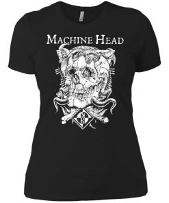 Skull Logo Machine Head Women's T-Shirt