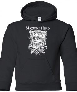 Skull Logo Machine Head Youth Hoodie